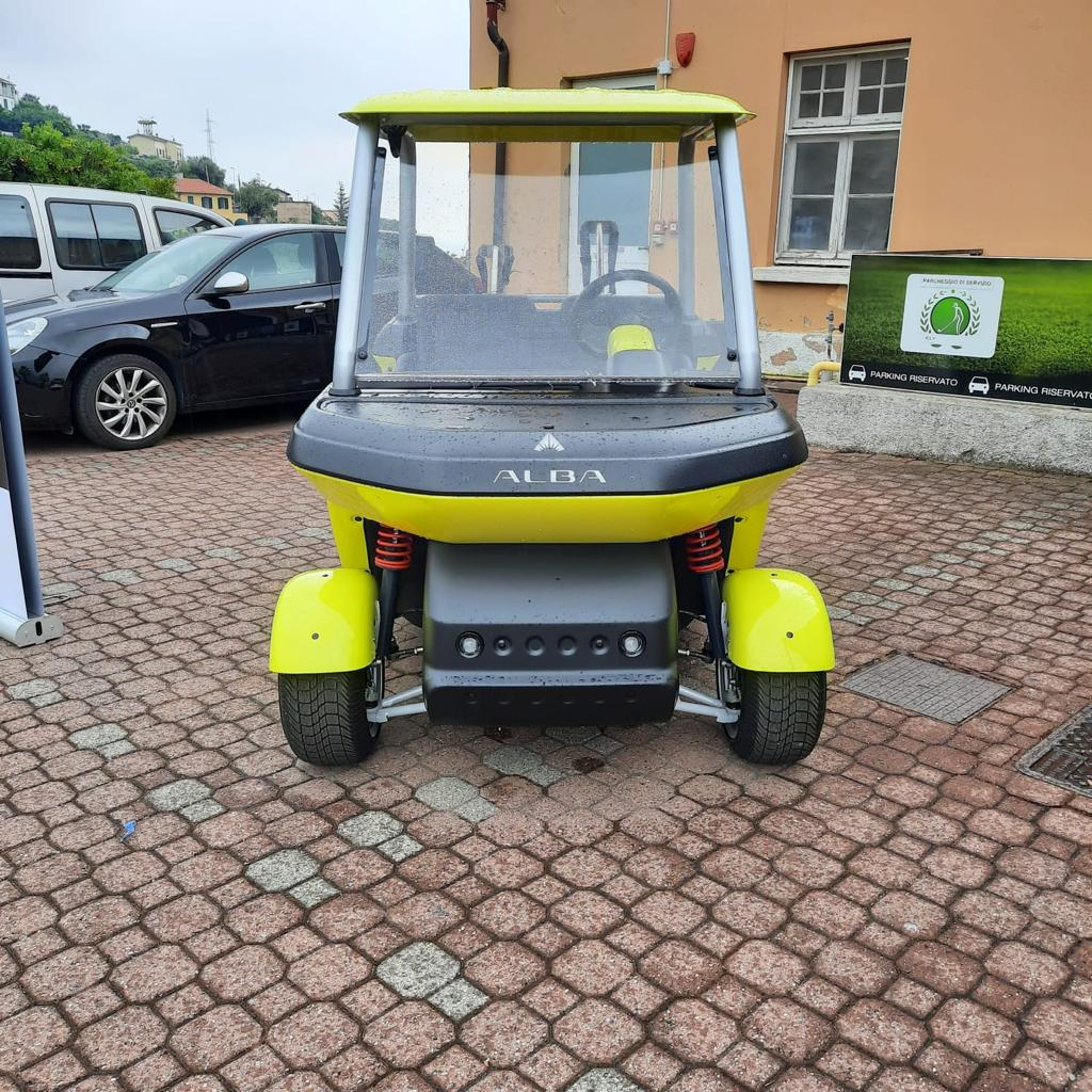 Alba cart yellow