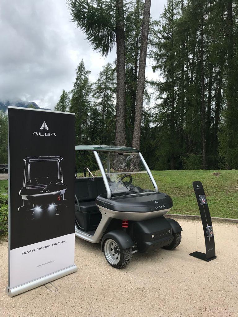 Alba Mobility - cart metal grey - Golf Cortina