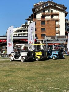 Alba Mobility Carts al Golf Sestrieres