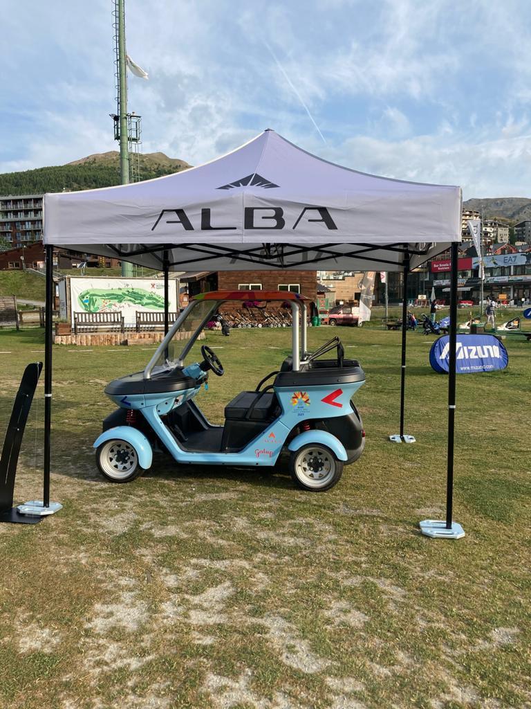 Alba Cart Light Heart_Golf Sestrieres