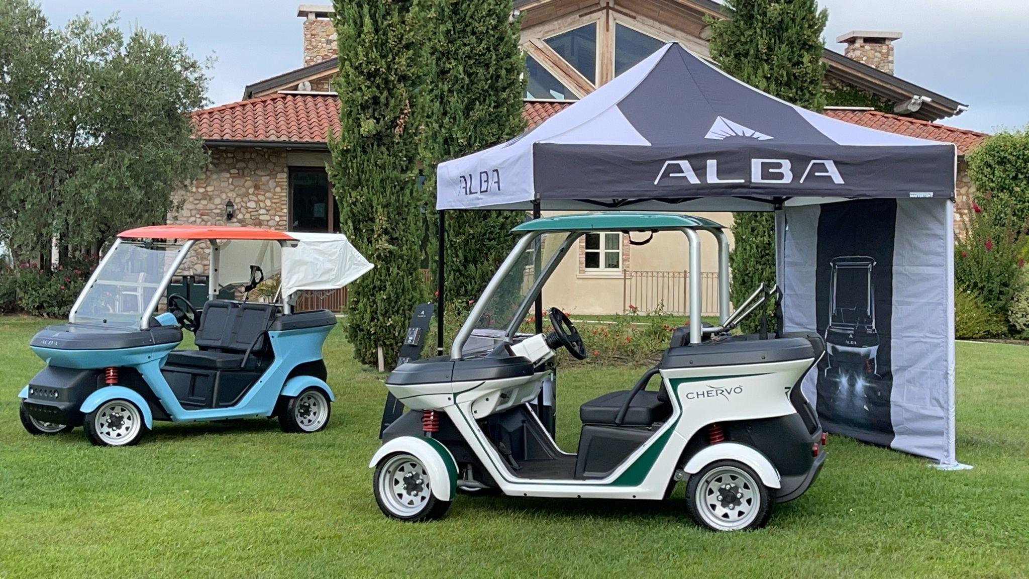 Alba Mobility Stand - Golf San Vigilio