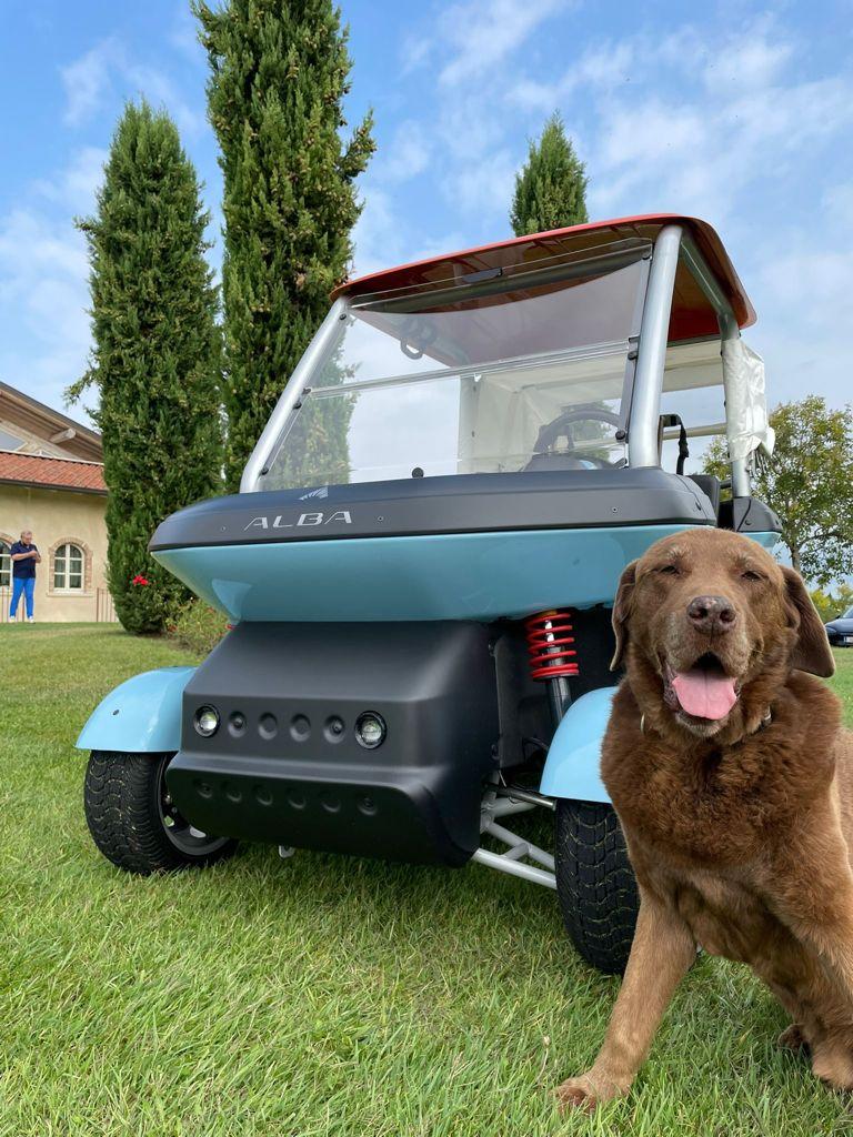 Light Heart - Alba Mobility Cart - Golf San Vigilio