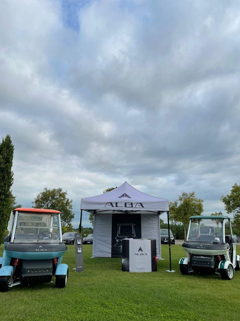 Stand Alba Mobility al Golf san Vigilio