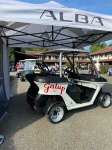 Stand Alba - Cart wrapping Galup