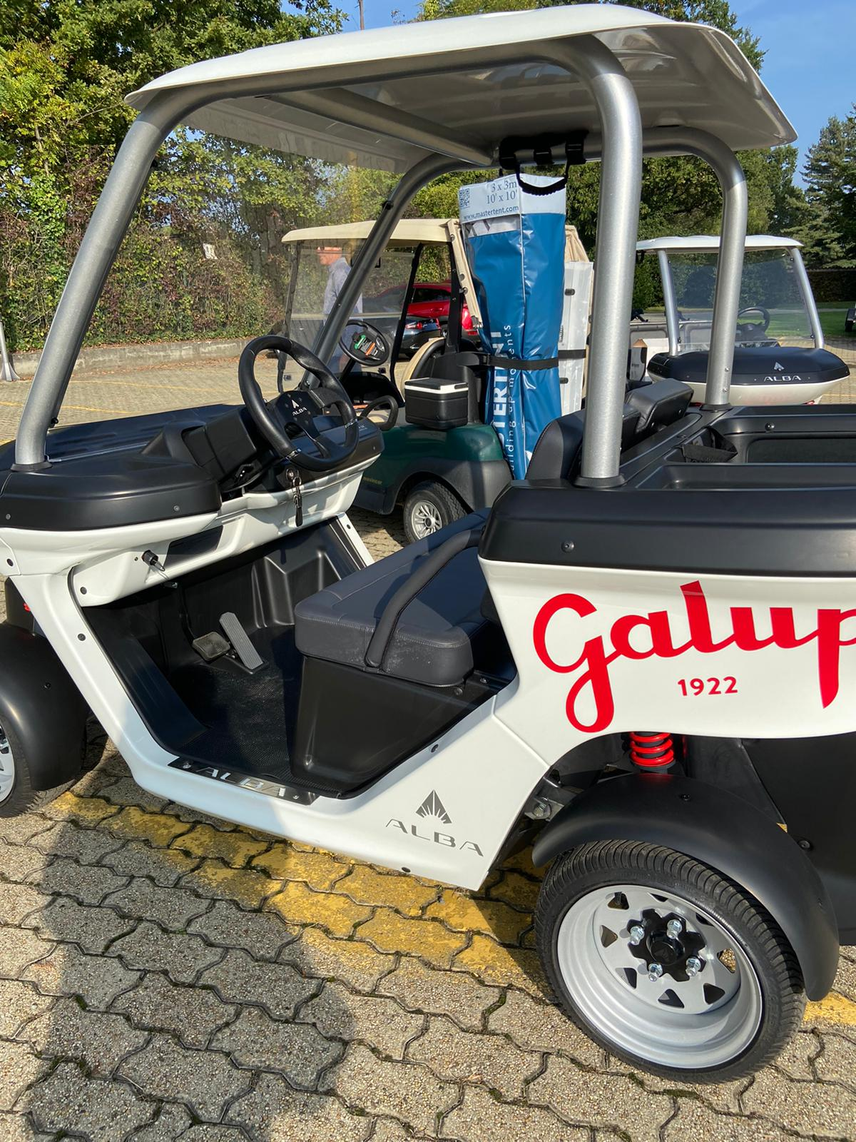 Alba Cart - wrapping Galup