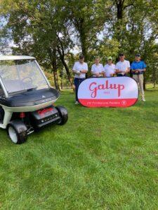 Team Alba Mobility e insegna Galup