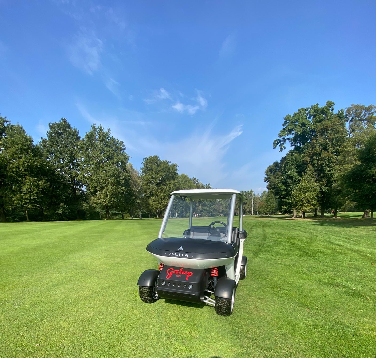 Cart Alba Mobility al Golf Club La Mandria