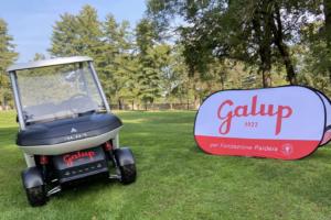 Cart metal grey - Circolo Golf Torino La Mandria